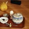 朝食に使う食器【セラミカのアップルボックスとル・クルーゼのハニーポット】