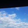青い空と白い雲を見ながら思う。。