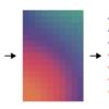 元画像の色合いを生かした三角形のモザイクを作るパターンB(Illustrator+InDesign)