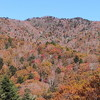大平峠県民の森から夏焼山の紅葉
