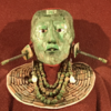 メキシコ 国立人類博物館(2/2)、「マヤ室」パレンケ遺跡 パカル王の王墓復元、「翡翠の仮面」他たくさんの魅力的な発掘品