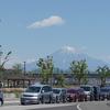 富士山の写真に写りこみたい!