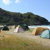 山口県 無料キャンプ場(シーズン中は有料) 二位ノ浜キャンプ場