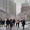 NY雪の日