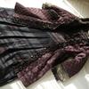 キルトコート あずき紫