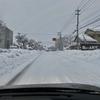 大雪が続く