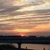 今夕のご臨在 美しい夕陽