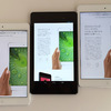 Retina iPad mini、初代iPad mini、Nexus7(2013)比較レビュー2:画面解像度や画質、見え方の違い