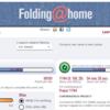 Folding@homeに参加しています