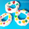 【粘土あそび】紙粘土でドーナッツをつくる(5歳)