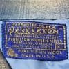 108 ビンテージ  ウールシャツ PENDLETON 70's