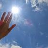 真夏の太陽!