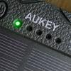 ソーラーパネル付きモバイルバッテリAUKEY PB-P24を購入した