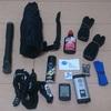 ロードバイクの付属品(自転車関連のもっていくもの・装備するもの)