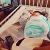 ギブス装着②またまたギプス(1歳10ヶ月と2日目)