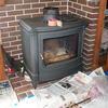 薪ストーブと煙突掃除
