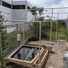 庭に池をつくる(⑪ネット貼り+外構 その1)