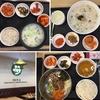 韓国・仁川空港「ポンチュッ&ビビンパッカフェ 」の「定食いろいろ」