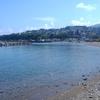 東小樽海水浴場 ― カニ釣り ―