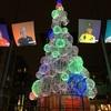 スミスフィールドのクリスマス・ツリーにひっそりと灯が入りました