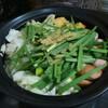 今日の晩飯 ちゃんこ鍋(ソップ炊き)を作ってみた。