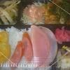 [21/08/17]「琉花」の「豚肉のソテー(粒マスタード,玉葱,マッシュルーム)(日替わり弁当)」 400円 #LocalGuides