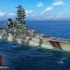 【WoWS】伊勢から見るハイブリッド艦艇の強みと弱み