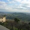 冬のイタリア「ひとりで滞在するフィレンツェ旅!塔の街サン・ジミニャーノで塔の存在を忘れる?雨の名残りを楽しんで」