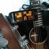 ギターのチューニングと、西田幾多郎と、【  むしろ、実際の体験は、知覚した言葉の音を組織化するためのもって生まれた一連の機能のひき金になるのである。】