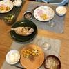 ごはん、鯛の塩焼き、ちくわ入りバターコーン、人参とズッキーニの胡麻和え、豚肉と干し大根の味噌汁