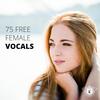 約70MBの単発ボイスが収録された無料サンプリング『75 Free Female Vocal Samples』
