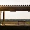 東北のとある駅にて・rollei 35 TE  w/lomo 400