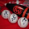2006年10月16日、広島市民球場の黒田博樹と背番号15