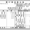 株式会社ビデオリサーチ 第57期決算公告