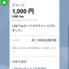 LINE Payのキャンペーンで1000円もらって一気に使い切った件