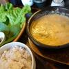 【京都】人気の韓国料理屋さん「ピニョ食堂」元気になるスープ定食!