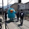 山科駅にもイコちゃん!上から目線でも撮影できた夢のような2日間です(447)