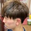 初めてのヘアカラー 初めてのツーブロック 鈴鹿市ヘアサロン・バーバーそらまめ