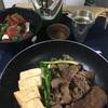 小笹屋竹鶴生酛純米大吟醸無濾過原酒23BYの加水燗を土佐あかうしの肉吸い&すき焼き+ミナミマグロ漬けと合わせると幸せがあけましておめでとうございました。