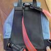 コーチのリュックの修理;「背面にファスナーをつけてほしい」・・・K's factory