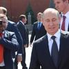 フランスとトルコの対立に仲裁役として介入するプーチン大統領