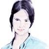 ある女性の手描きスケッチをPhotoshopでクォリティアップ(カラー)