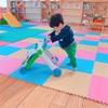 歩く練習~!1歳7ヶ月(^^)