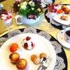 3月のお茶のテーブル