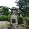 方近阿蘇神社の狛犬