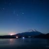 【天体撮影記 第78夜】 山梨県 ゆるきゃん聖地! 本栖湖からの星空と富士山を!