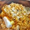 渋谷の「ケニックカレー」でケニックカレー×魯肉飯の合いがけ(豆腐変更糖質オフ)、炙りチーズ。