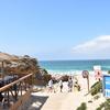 ポルトガルのお洒落ビーチ、ギンショビーチでランチを