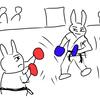 【マンガ】 初めての空手大会 組手競技はまさかの時間切れ判定に!1回戦の結果は!?