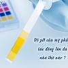 Độ pH của mỹ phẩm tác động trực tiếp lên da như thế nào?